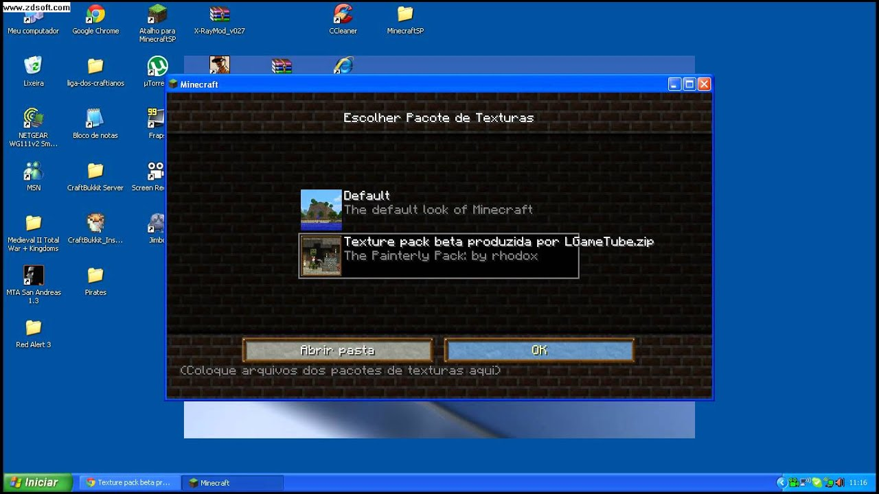 pacotes de textura minecraft 1.3.1