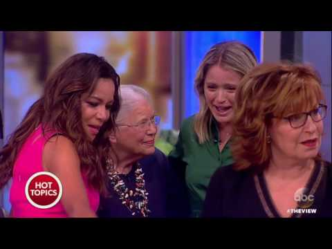 Sara Haines Surprised With Visit From 6th Grade Teacher | The View