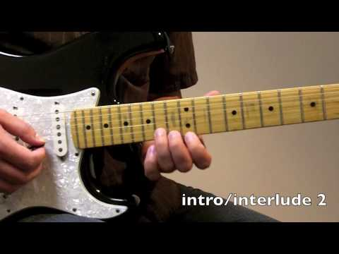 Slow Dancing in a Burning Room  John Mayer  Guitar Lesson