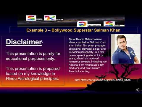 2019 Sidereal Ephemeris Example 3 SalmanKhan