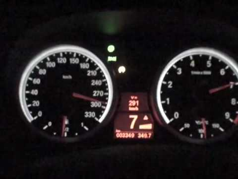 BMW M3 E92, Racing at TOP SPEED 0-300KMH with Full Throttle - YouTube