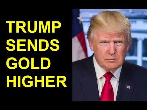 TRUMP SENDS GOLD HIGHER | Midweek Metals Report