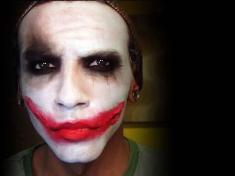 dark knight joker makeup tutorial youtube. Black Bedroom Furniture Sets. Home Design Ideas