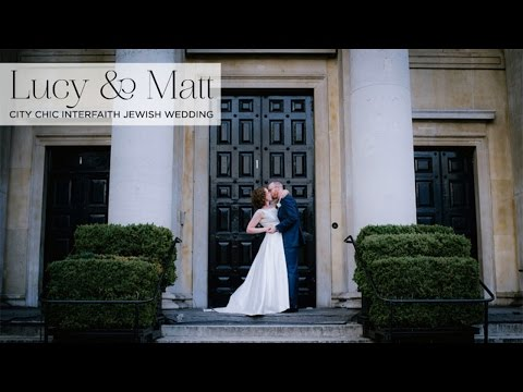 Lucy & Matt | Chic interfaith Jewish wedding at One Marylebone London, UK