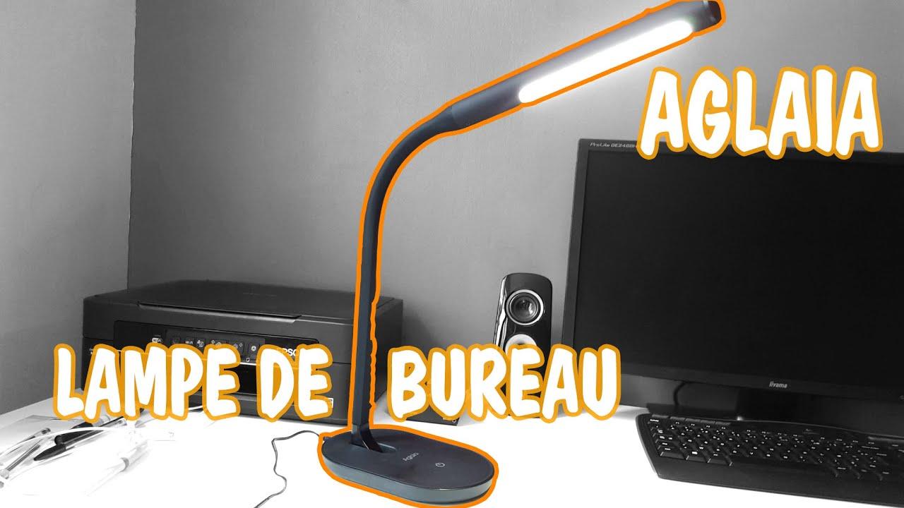 Test de la lampe de bureau led w d aglaia youtube