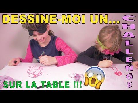 CHALLENGE • DESSINE-MOI UN... sur la table !! :) - Studio Bubble Tea unboxing