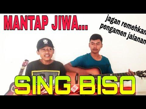 MANTAP DJIWA!!! -SING BISO - Cover Ega Spp | Rizal Putra