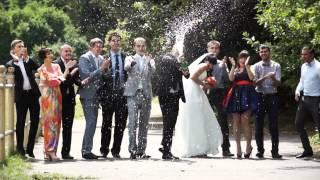 Свадебное агентство Стрелы Амура.Бело-коралловая свадьба. Юля и Богдан