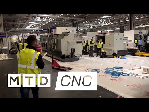 MACH 2018: Gio tours the new halls during build up...