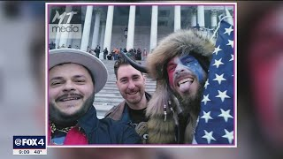 Nick Decarlo arrested -- photographed near 'Murder the Media' graffiti on US Capitol door
