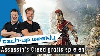 Assassins Creed gratis spielen | Windows 10 Update für Gamer - Tech-up Weekly #134