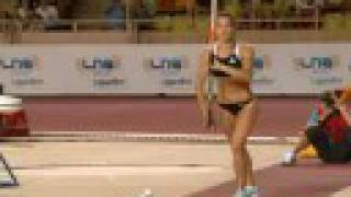 Isinbayeva Breaks Pole Vault World Record Again