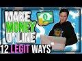 12 Legit Ways To Make Money Online (Beginners Guide)