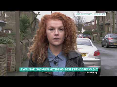 Shannon Matthews' Best Friend Speaks Out | This Morning