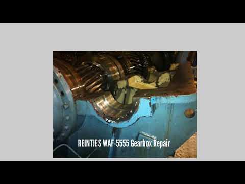 REINTJES WAF 5555 Gearbox Repair