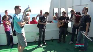 On Ferry Split - Vis with Slovenian orchestra, 1 - CROATIAN MAGAZINE Show 494
