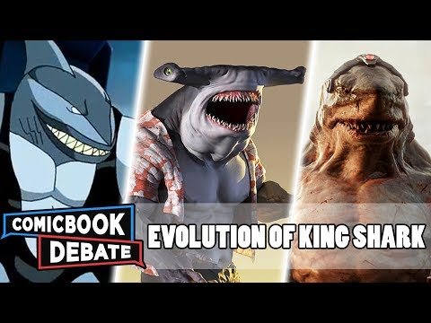 Evolution Of King Shark In All Media In 5 Minutes (2019)