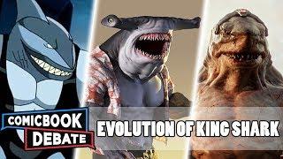 Evolution of King Shark in All Media in 5 Minutes (2019)