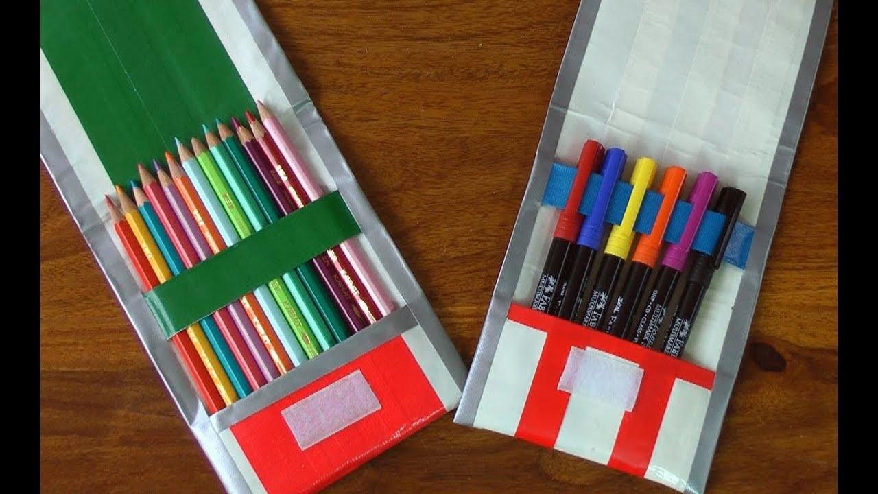 Regreso a clases estuche para tiles escolares - Todo tipo de manualidades para hacer ...