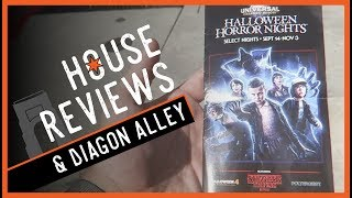 House Review Tricks & Diagon Alley Treats! | Halloween Horror Nights Opening Night 2018