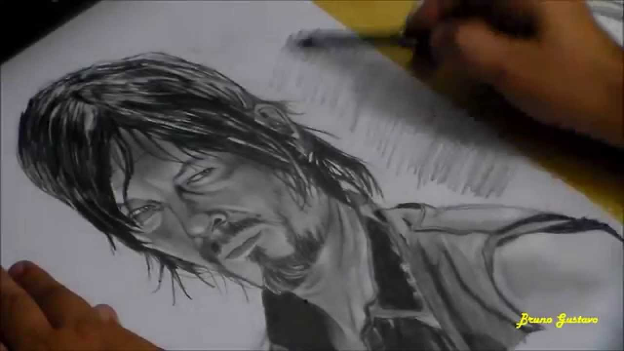Daryl Dixon Norman Reedus The Walking Dead Youtube