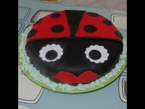 g teau d cor p te sucre la coccinelle torta con pdz