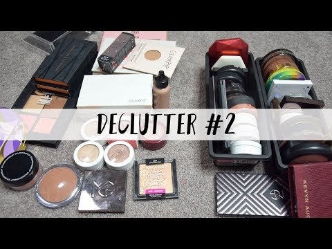 Makeup Declutter #2 - Bronzers, Blushes, Highlighters