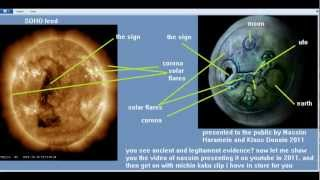 stargate sun mayan artifacts -nassim haramein & Dona Klaus explained by me