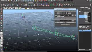 Maya Character Rigging (Session #1 -- part 1/6) -- Creating Joints for a Character Rig