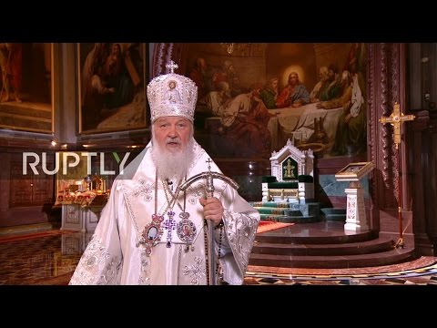 LIVE: Patriarch Kirill leads Orthodox Easter Liturgy Mass in Moscow