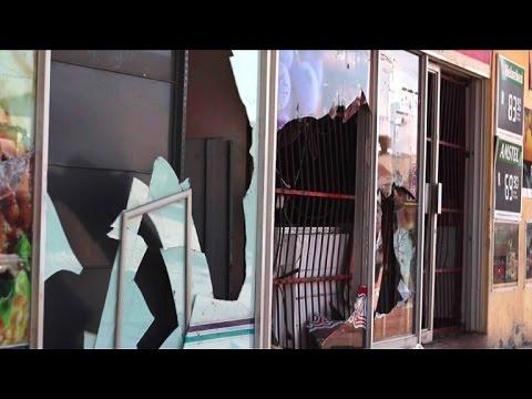 Afrique du sud: une ville saccagée par des affrontements