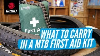 What To Carry In A MTB First Aid Kit
