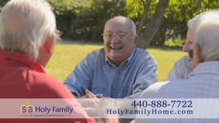 Holy Family is here to help commercial