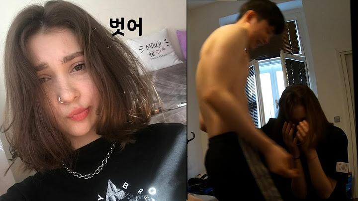 [🇰🇷🇲🇩국제커플]여자친구는 낮져밤이 couple Vlog💋