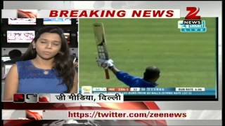 Video Zee News: Shikhar Dhawan's record 248, Pujara's ton help India score 433/3 vs South Africa A download MP3, MP4, WEBM, AVI, FLV April 2018