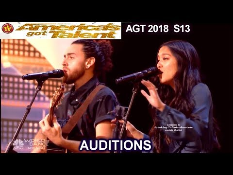 Us The Duo Husband &Wife Original Wedding Song No Matter Where You Are America's Got Talent 2018 AGT