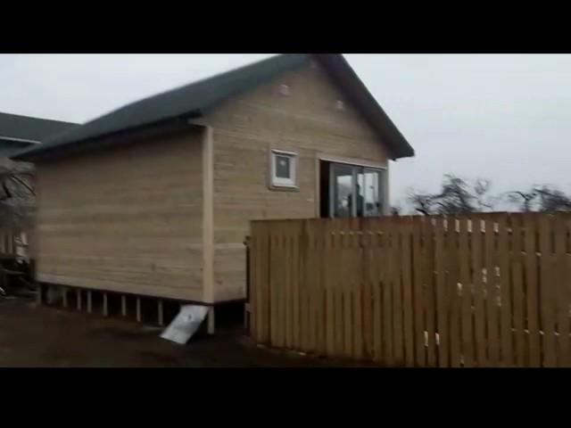 Каркасный дом 5,0х6,0 м  в Новгородском районе
