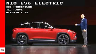 536HP Nio ES6 Electric SUV Unveiling - Will It Beat The Tesla Model X?