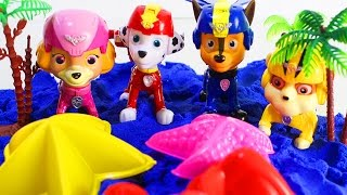 Мультики для детей Игрушки Щенячий патруль новые серии На пляже Развивающие мультики для малышей