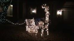 Christmas Lights in Fountain Hills Arizona 2016