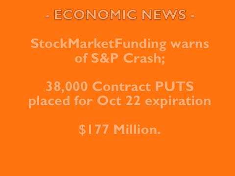 ECONOMIC: S&P CRASH WARNING!