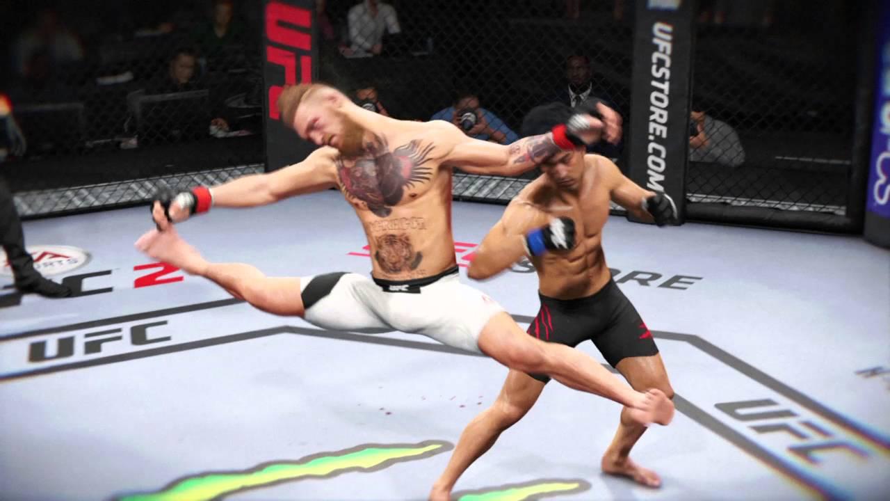 Funny UFC 2 knockout  YouTube