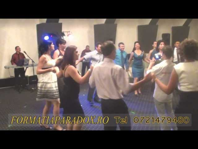 MUZICA DE PETRECERE-MUZICA  PETRECERE NUNTA -FORMATIA PARADOX 2012
