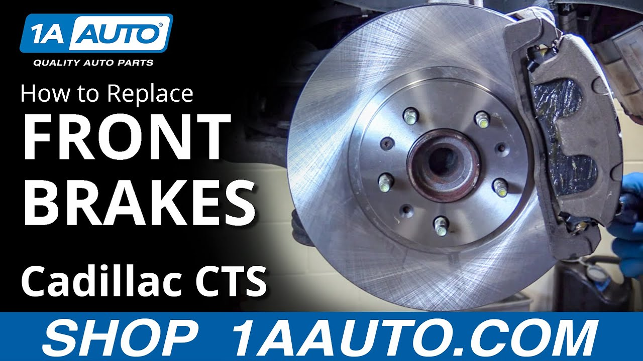 How To Replace Front Brakes 03 07 Cadillac Cts