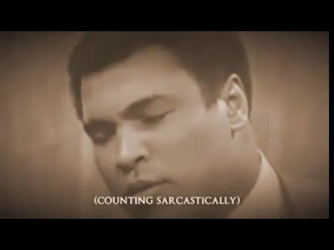 Muhammad Ali AMAZING Interview - Do you have a Bodyguard ??