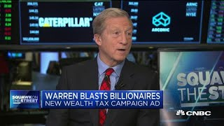Billionaire Tom Steyer calls on billionaire Michael Bloomberg to support a wealth tax