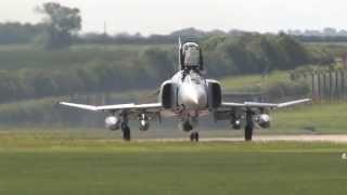 Waddington Airshow Arrivals 2012