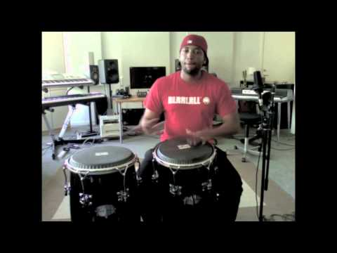 Conga, Timbales and Drums Exercise