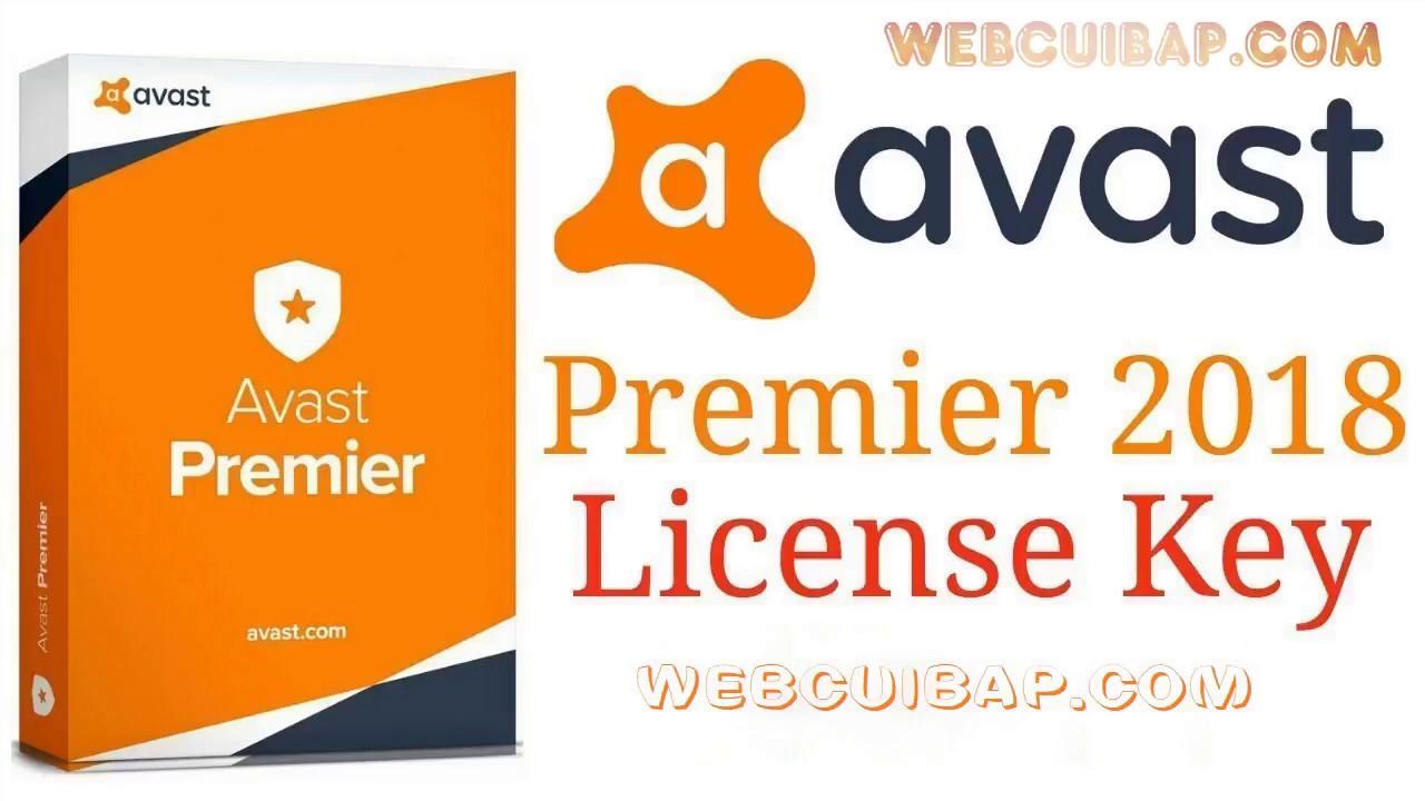 Avast Premier 2018 Full bản quyền – Diệt virus cực mạnh cho PC