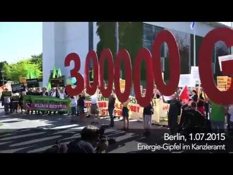 Kanzleramt komplett umzingelt von Demonstranten